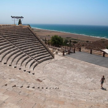 Antic theatre in cyprus