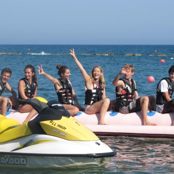 Beach activities in cyprus