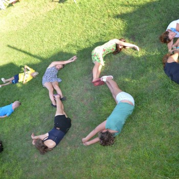 Students activity in summer camp