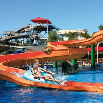 ESSC student in waterpark in Cyprus