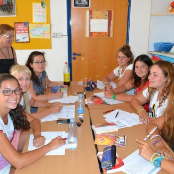 English Sunny School of Cyprus students in the classroom